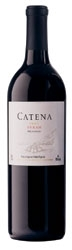 Catena Syrah 2006, Mendoza Bottle