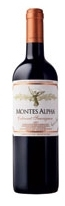Montes Alpha Cabernet Sauvignon 2007, Colchagua Valley Bottle