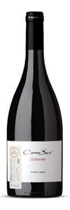 Cono Sur 20 Barrels Limited Edition Pinot Noir 2007, Casablanca Valley, El Triángulo Estate Bottle