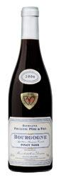 Domaine Poulleau Père & Fils Bourgogne Pinot Noir 2006, Ac Bottle