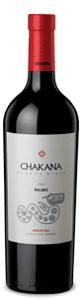 Chakana Malbec 2008, Mendoza Bottle