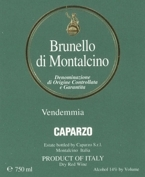 Caparzo Brunello Di Montalcino 2003, Docg Bottle