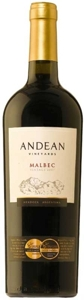 Andean Vineyards Malbec 2007, Mendoza Bottle