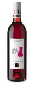 Girls Night Out Merlot Chardonnay Rose 2009, Ontario VQA Bottle