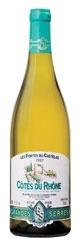 Grandes Serres Les Portes Du Castelas Côtes Du Rhône Blanc 2007, Ac Bottle