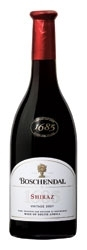 Boschendal 1685 Shiraz 2007, Wo Coastal Region Bottle