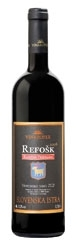 Vinakoper Capris Refošk 2008, Koper Bottle