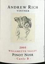 Andrew Rich Cuvée B Pinot Noir 2006, Willamette Valley Bottle