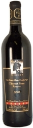 Black Prince Cabernet Franc Reserve 2007, Prince Edward County Bottle
