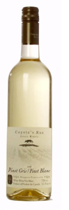 Coyote's Run Pinot Gris/Pinot Blanc 2008, VQA Bottle