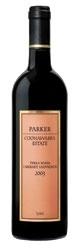 Parker Coonawarra Estate Terra Rossa Cabernet Sauvignon 2003, Coonawarra, South Australia Bottle