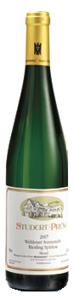 Studert Prüm Wehlener Sonnenuhr Riesling Spätlese 2007, Prädikatswein Bottle