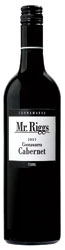 Mr. Riggs Cabernet 2007, Coonawarra, South Australia Bottle