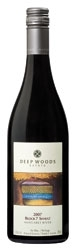 Deep Woods Estate Block 7 Shiraz 2007, Margaret River, Western Australia Bottle