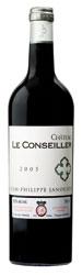 Château Le Conseiller 2005, Ac Bordeaux Supérieur Bottle