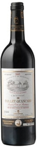 Château De Paillet Quancard 2005, Ac Premèires Côtes De Bordeaux Bottle
