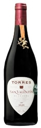 Torres San Valentín Garnacha 2007, Do Catalunya Bottle