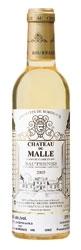 Château De Malle 2005, Ac Sauternes, 2e Cru (375ml) Bottle
