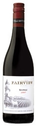 Charles Back Fairview Shiraz 2007, Wo Coastal Region Bottle