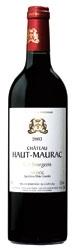 Château Haut Maurac 2003, Ac Médoc Bottle