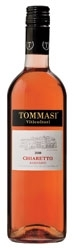 Tommasi Chiaretto 2008, Doc Bardolino Bottle
