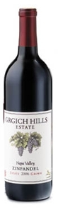 Grgich Hills Estate Zinfandel 2006, Napa Valley, Estate Grown   Bottle