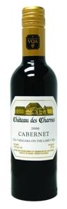 Château Des Charmes White Label Cabernet VQA 2006, 375 Ml Bottle