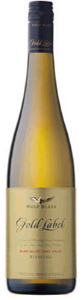 Wolf Blass Gold Label Riesling 2007, Adelaide Hills, South Australia Bottle