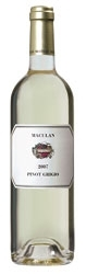 Maculan Pinot Grigio 2008, Doc Breganze Bottle