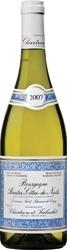 Domaine Saint Saturnin De Vergy 2007, Ac Bourgogne Hautes Côtes De Nuits Blanc Bottle