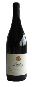 Lailey Pinot Noir 2007, VQA Niagara River Bottle
