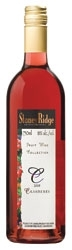Stoney Ridge Cranberry Wine 2008, Ontario Bottle