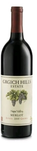 Grgich Hills Estate Grown Merlot 2005, Napa Valley Bottle