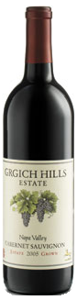 Grgich Hills Estate Grown Cabernet Sauvignon 2005, Napa Valley Bottle