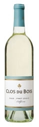 Clos Du Bois Pinot Grigio 2008, California Bottle