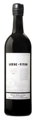 Leese Fitch Cabernet Sauvignon 2007, California Bottle