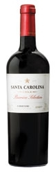 Santa Carolina Barrica Selection Carmenère 2007, Rapel Valley Bottle