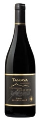 Casa Tamaya Reserve Syrah 2008, Limari Valley Bottle