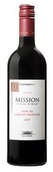 Mission Estate Winery Cabernet Sauvignon 2007, Hawkes Bay, North Island Bottle