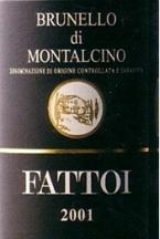 Fattoi Brunello Di Montalcino 2004 Bottle