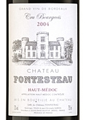 Chateau Fontesteau 2004 Bottle