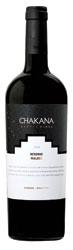 Chakana Reserve Malbec 2008, Mendoza Bottle