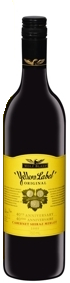 Wolf Blass 40th Anniversary Yellow Label Original Cab Merlot Shiraz 2005, South Australia Bottle