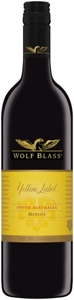 Wolf Blass Yellow Label Merlot 2006, South Australia Bottle