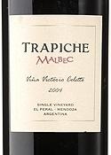 Trapiche Viña Victorio Coletto Malbec 2004 Bottle