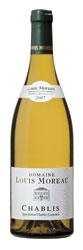 Domaine Louis Moreau Chablis 2007 Bottle