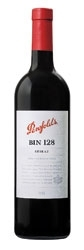 Penfolds Bin 128 Shiraz 2006, Coonawarra, South Australia Bottle