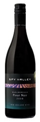 Spy Valley Pinot Noir 2008, Marlborough, South Island Bottle