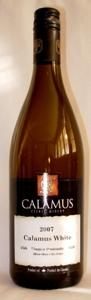 Calamus White 2007 2007 Bottle