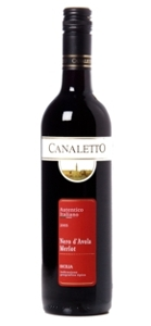 Canaletto Nero D'avola Merlot 2007, Sicily Bottle